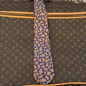🔥😎 Christian Dior Silk Paisley Tie
